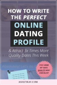 blog about online dating
