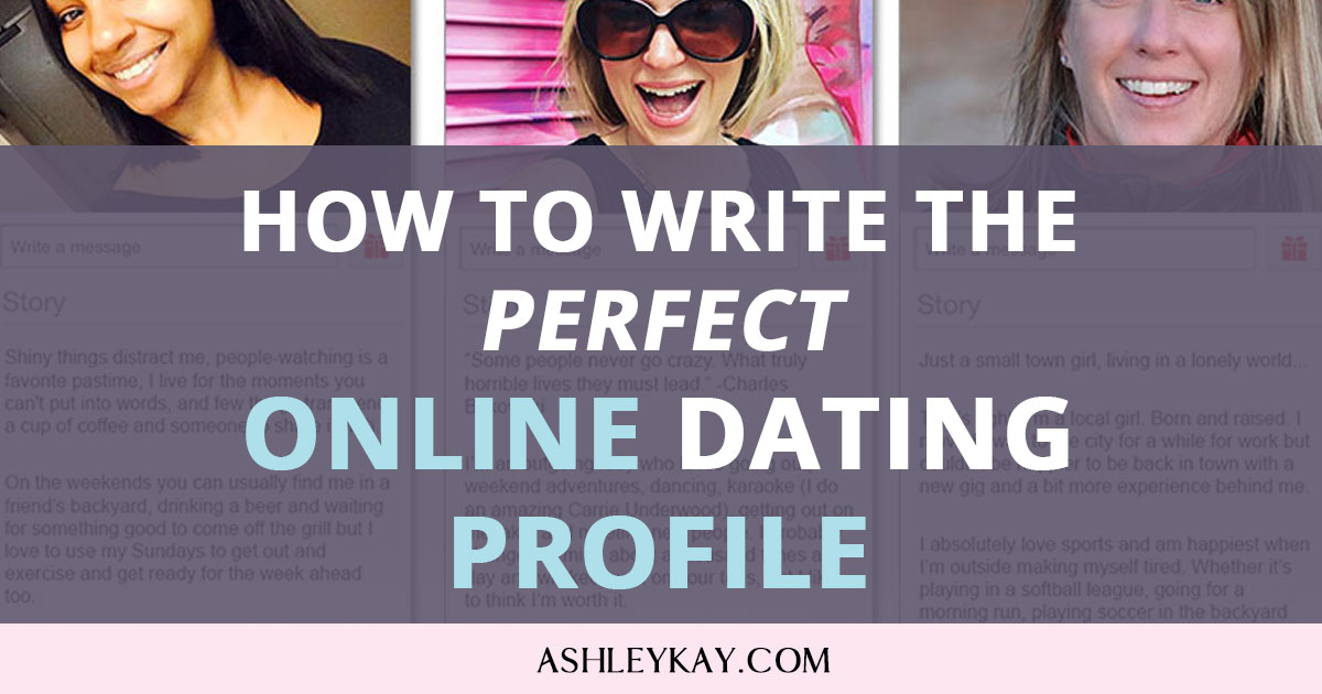 online dating how to write a profile